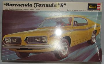 Plymouth Barracuda Formula S | Model Car Kits