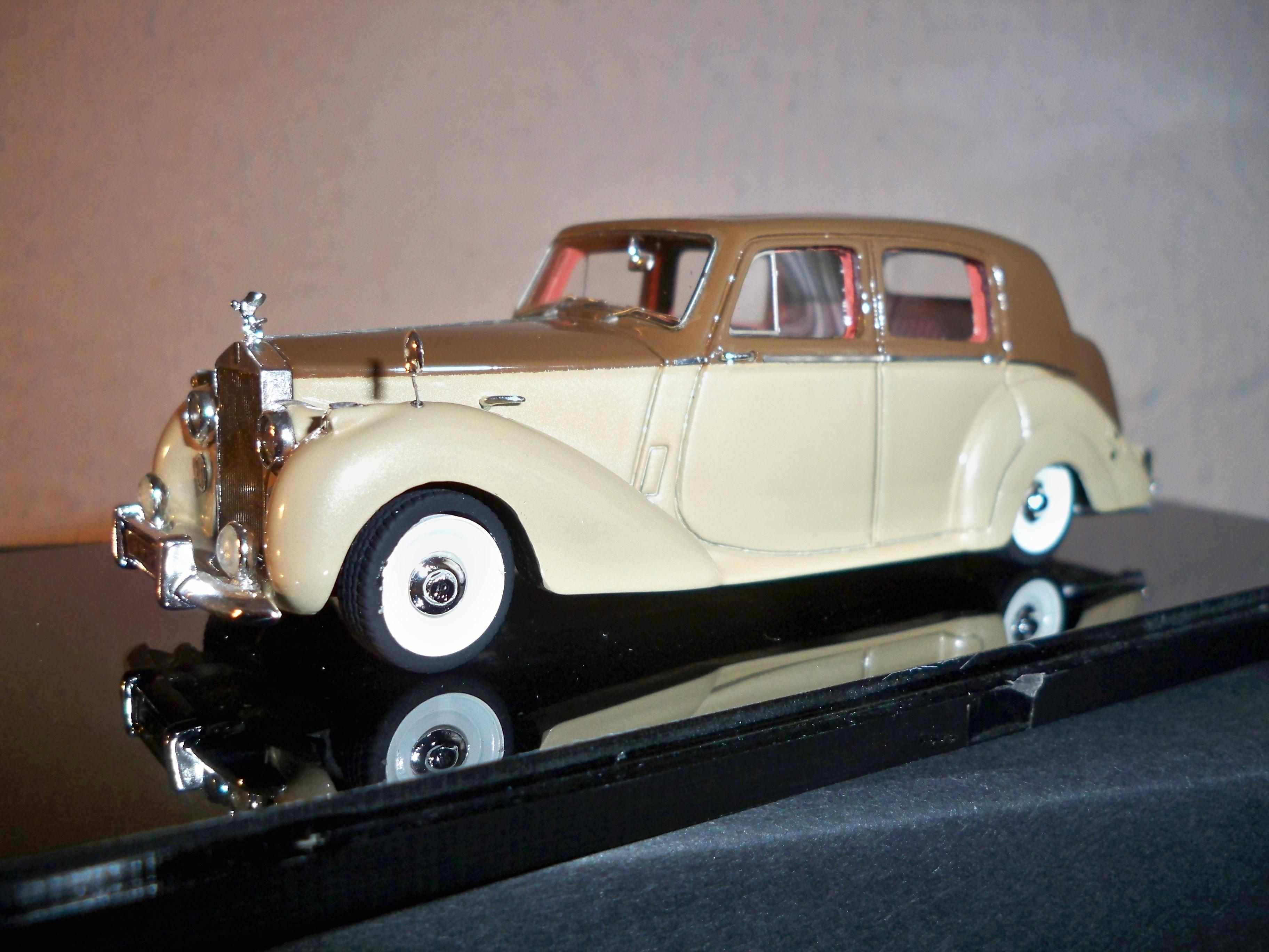 1951 rolls royce silver dawn model cars