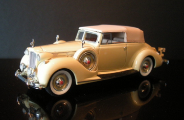 1938 Packard Twelve Convertible Diecast Magazine Edition  | Model Cars