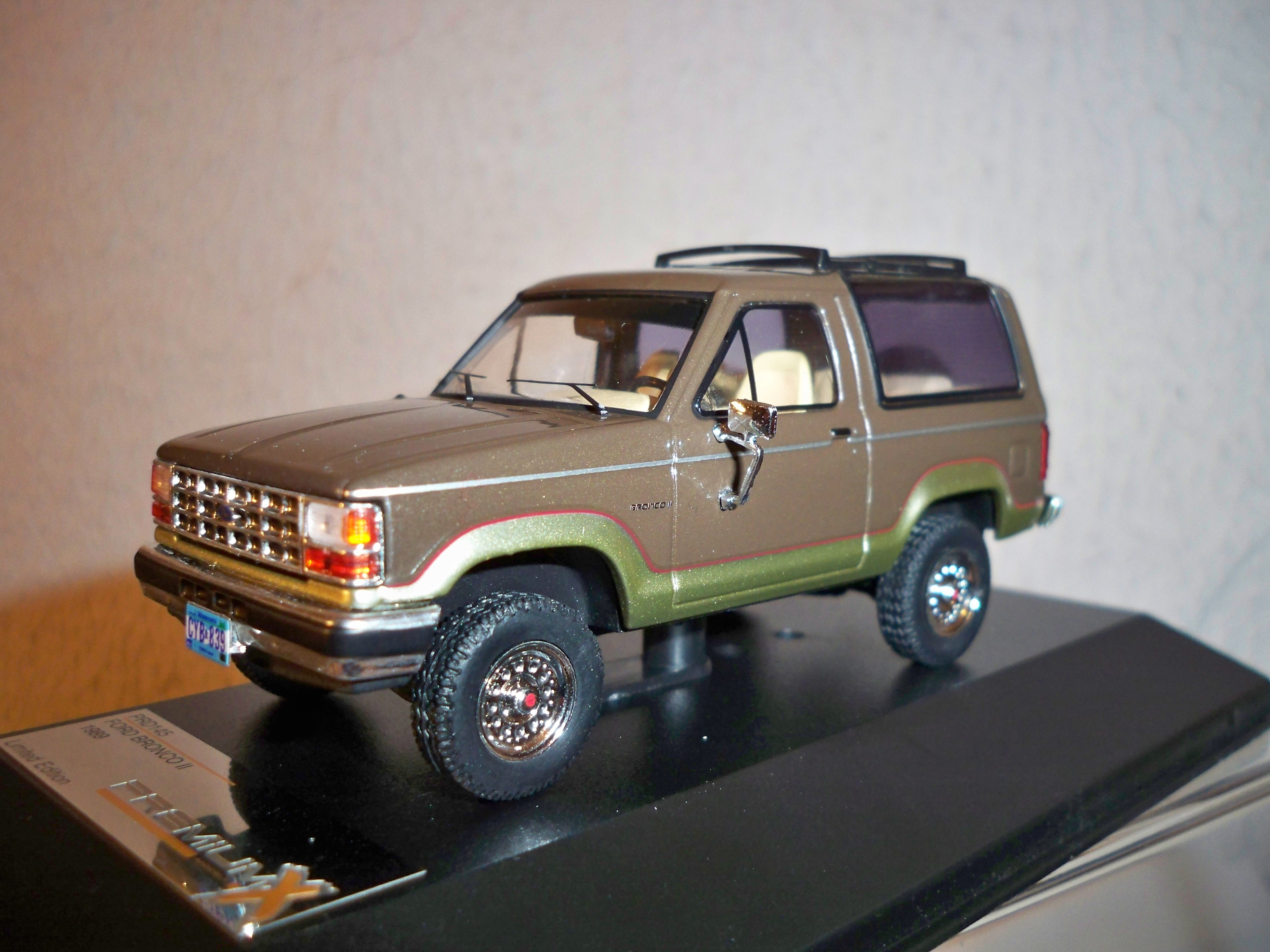 1989 Ford Bronco Ii Model Cars Hobbydb