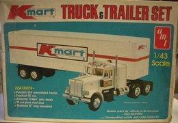 K Mart® Truck & Trailer Set | Model Truck Kits