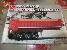 Tri-Axle Gravel Trailer | Model Truck Kits