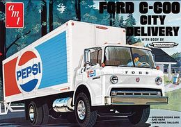FORD C-600 City Delivery | Model Truck Kits