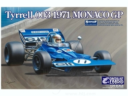 1971 Tyrell Type 003 Monaco | Model Racing Car Kits