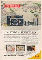 The Kodak Signet 80: | Print Ads