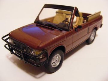 Land Rover '72' Range Rover Convertible | Model Trucks