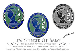Lew Spencer Cup Morgan Badge | Car Badges