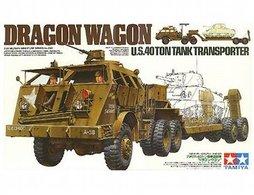 Dragon wagon u.s. 40 ton tank transporter model truck kits bc9a7dec 8ae1 4a67 8596 863f126476c2 medium