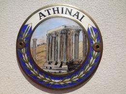 Athens car badge | Car Badges | 7 cms in diameter