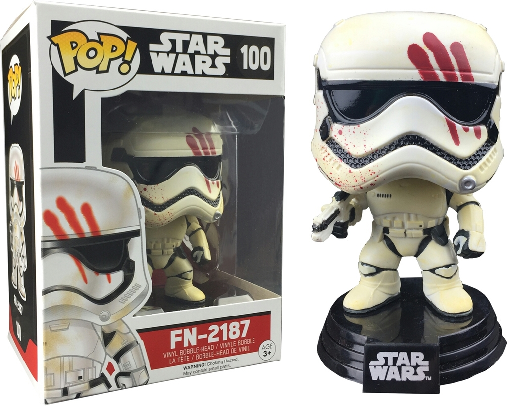 Target Exclusive FN-2187 (Bloody Handprint) Star Wars The