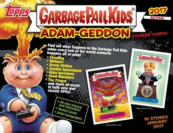 Topps 2017 garbage pail kids series 1 armageddon blaster box cards collector card packs and sets fca49995 913e 4497 a1b7 7841af2142d1 large
