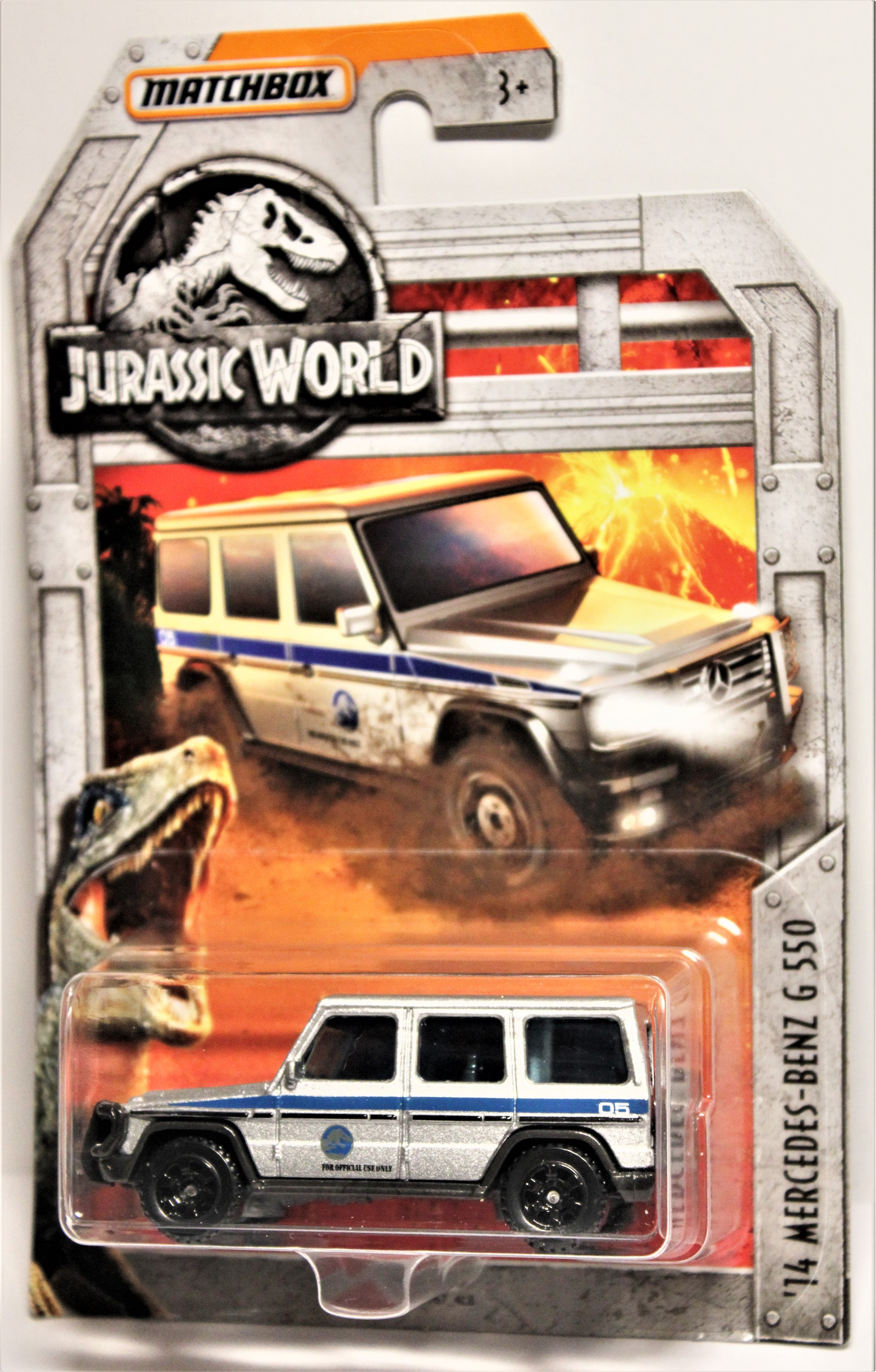 14 Mercedes-Benz G 550 2018 Matchbox Jurassic World Limited Edition