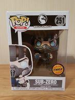 Mortal KOMBAT X Sub-Zero Funko Pop Figura in vinile #251 Ufficiale