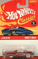 Hot wheels hot wheels classics 252c hot wheels classics series 1 1963 t bird model cars 18794b98 c07c 4420 829b b7ba991d1f45 medium