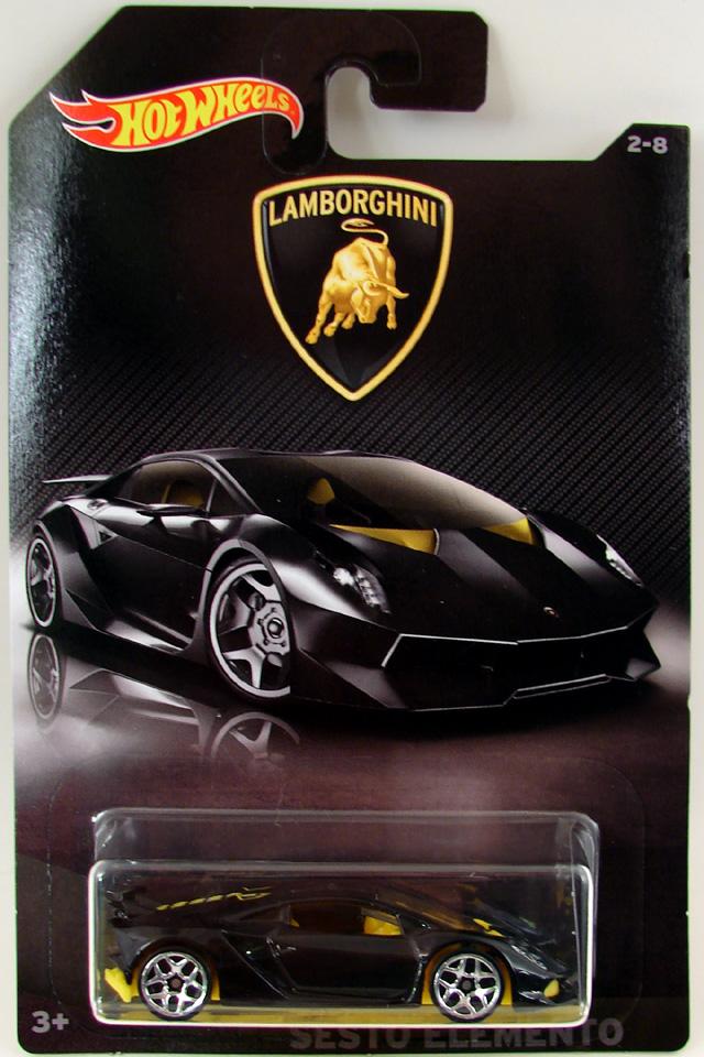 Hw 2017 Lamborghini Series 2 8 Lamborghini Sesto Elemento