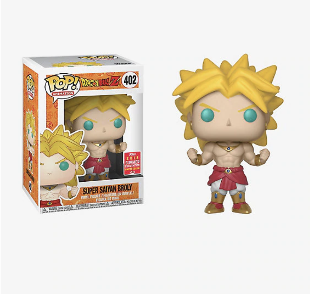 Super Saiyan Broly SDCC HT Shared Exclusive With Soft Protector