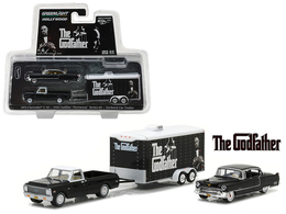 1972 chevrolet c 10 with 1955 cadillac fleetwood series 60 special in enclosed car trailer model vehicle sets 5c51dc44 6ade 4e1a 9655 82c119d581f5 medium