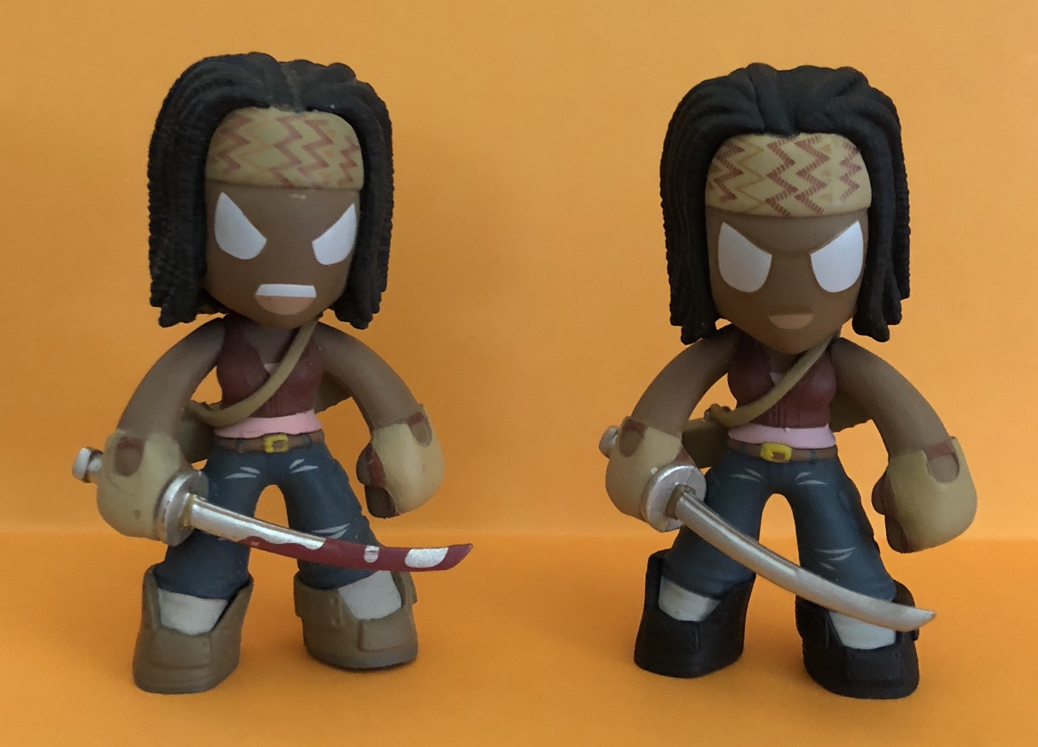 Funko Mystery Mini The Walking Dead Michonne (Angry/Bloody