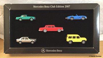 Mercedes benz club edition 2007 model vehicle sets 2ea0ea26 15a9 4cdc a699 e0d4f8f08afb large
