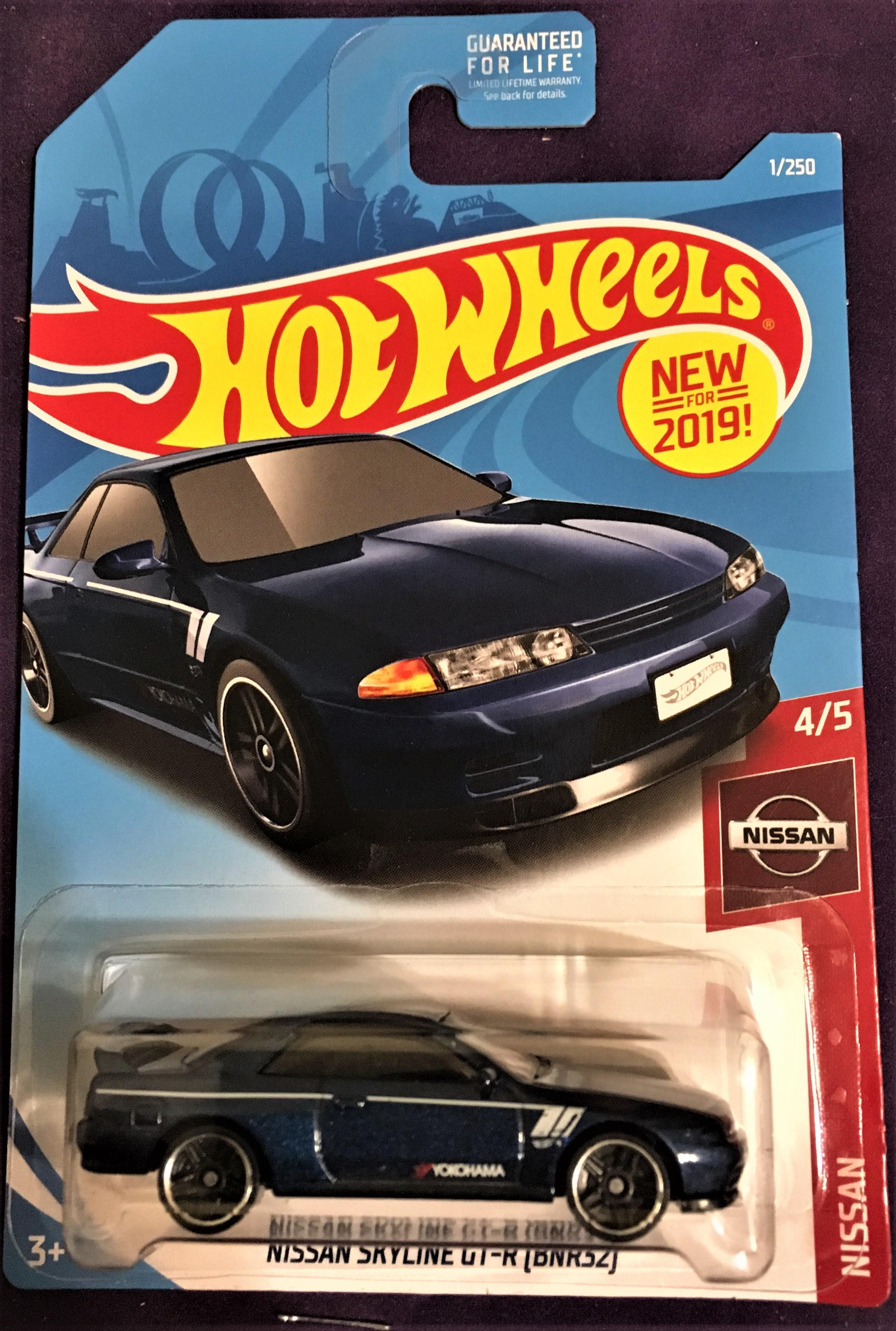 2019 Hot Wheels 1 Nissan Skyline Gt R Bnr32 Hobbydb