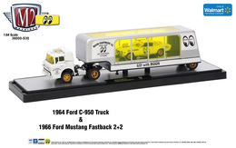 1964 ford c 950 truck and 1966 ford mustang fastback 2 252b2 model trucks 1a562b87 8e7b 4b3e 9e15 461d5f5a3adf medium