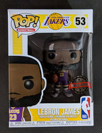 LeBron James (Lakers) (Purple Jersey) Pop Vinyl Pop Sports  33b98a9a5