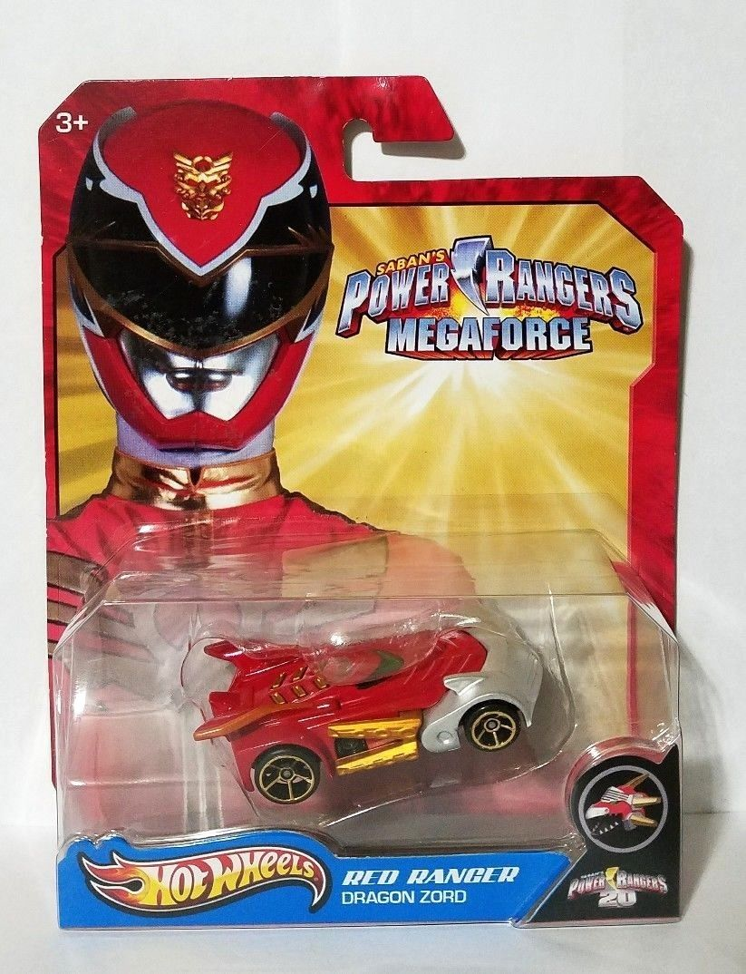 HW 2013 - HW Power Rangers Megaforce Y0753 - Red Ranger