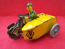Mettoy aa motorcycle and sidecar tinplate and pressed steel toys 15169399 23ac 4b88 b55d e9db9f6c2889 medium