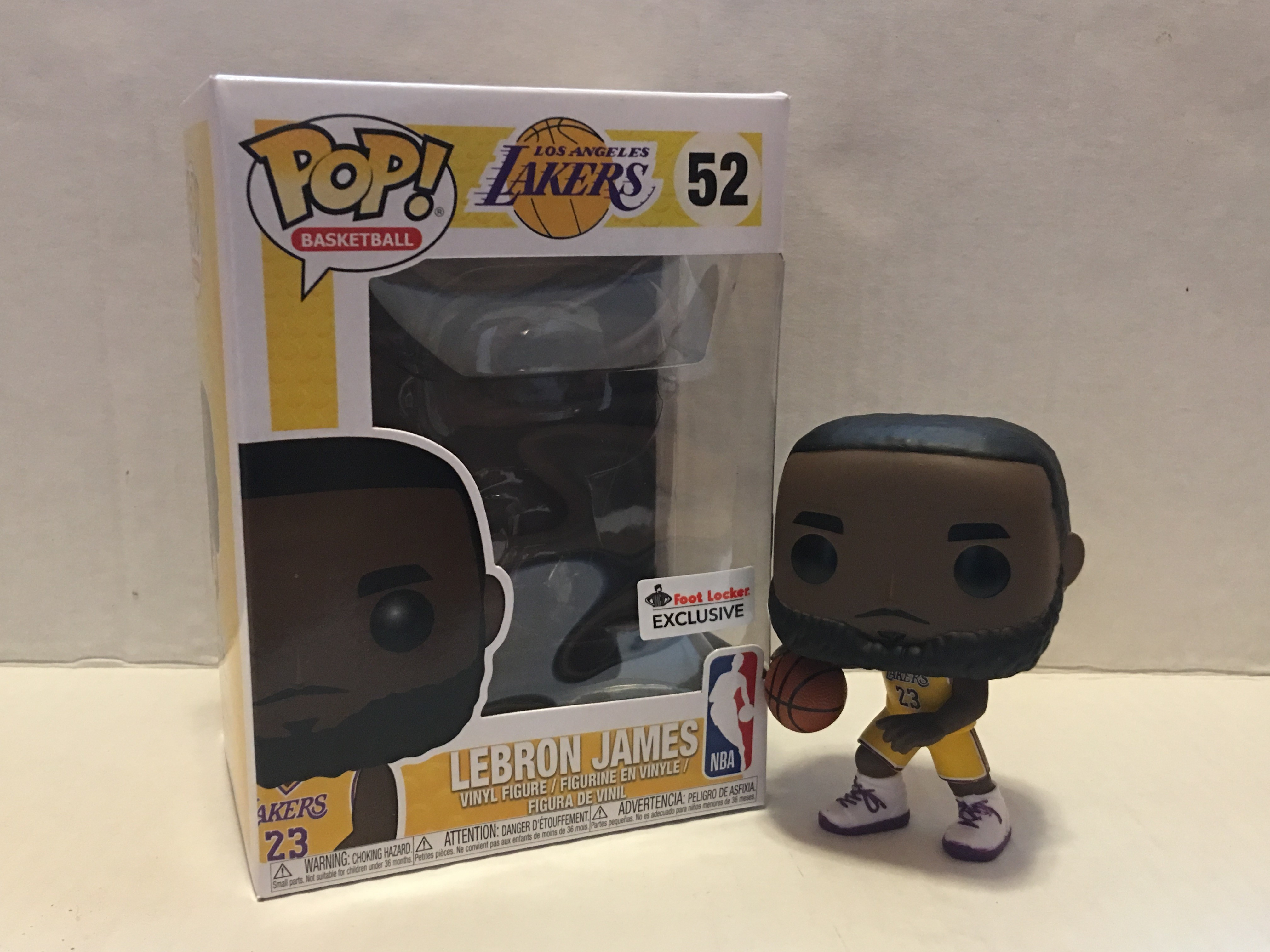LeBron James (Lakers) (Yellow Jersey)  a857140d4