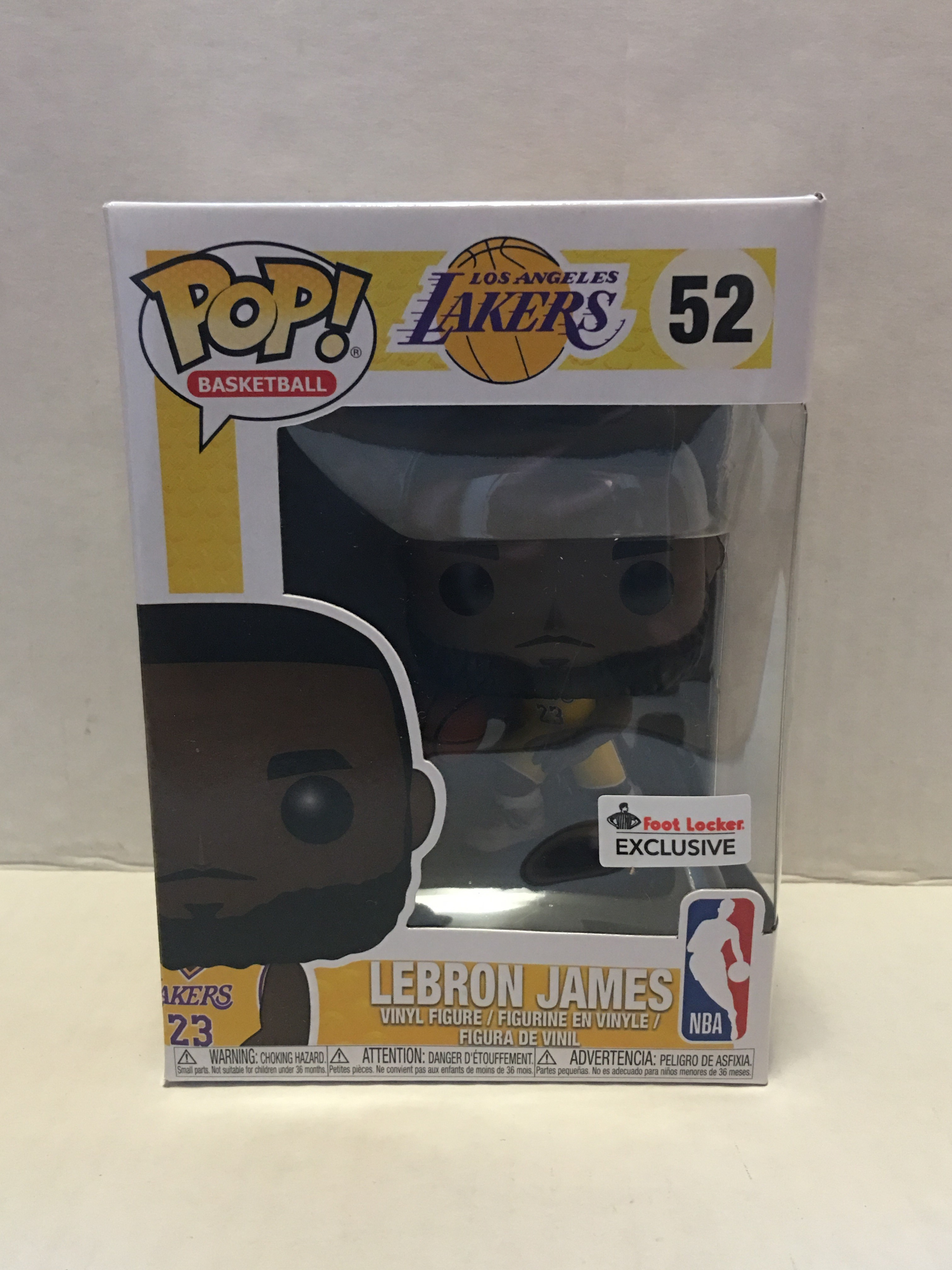 15d8a7fb1f5 Funko Funko Pop Los Angeles Lakers Lebron James Foot Locker Exclusive Sold  Out!!!