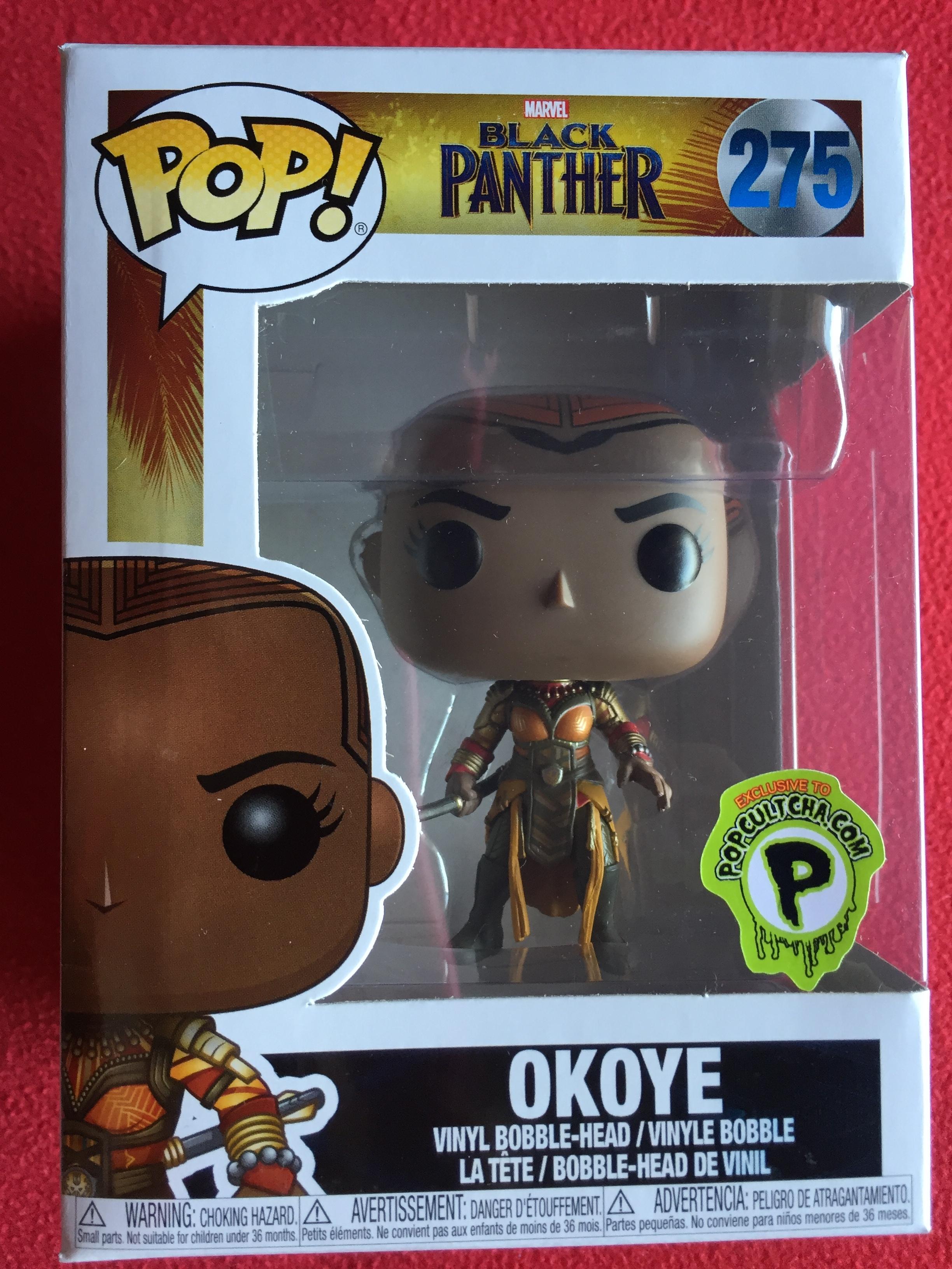 exclusive Okoye 275 - Funko Black Panther Pop!