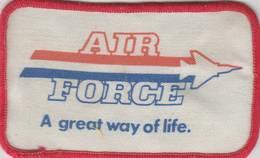 Air force  a great way of life. hat patch uniform patches c3b346bb 76e3 4c9a baf4 63abba428f3c medium