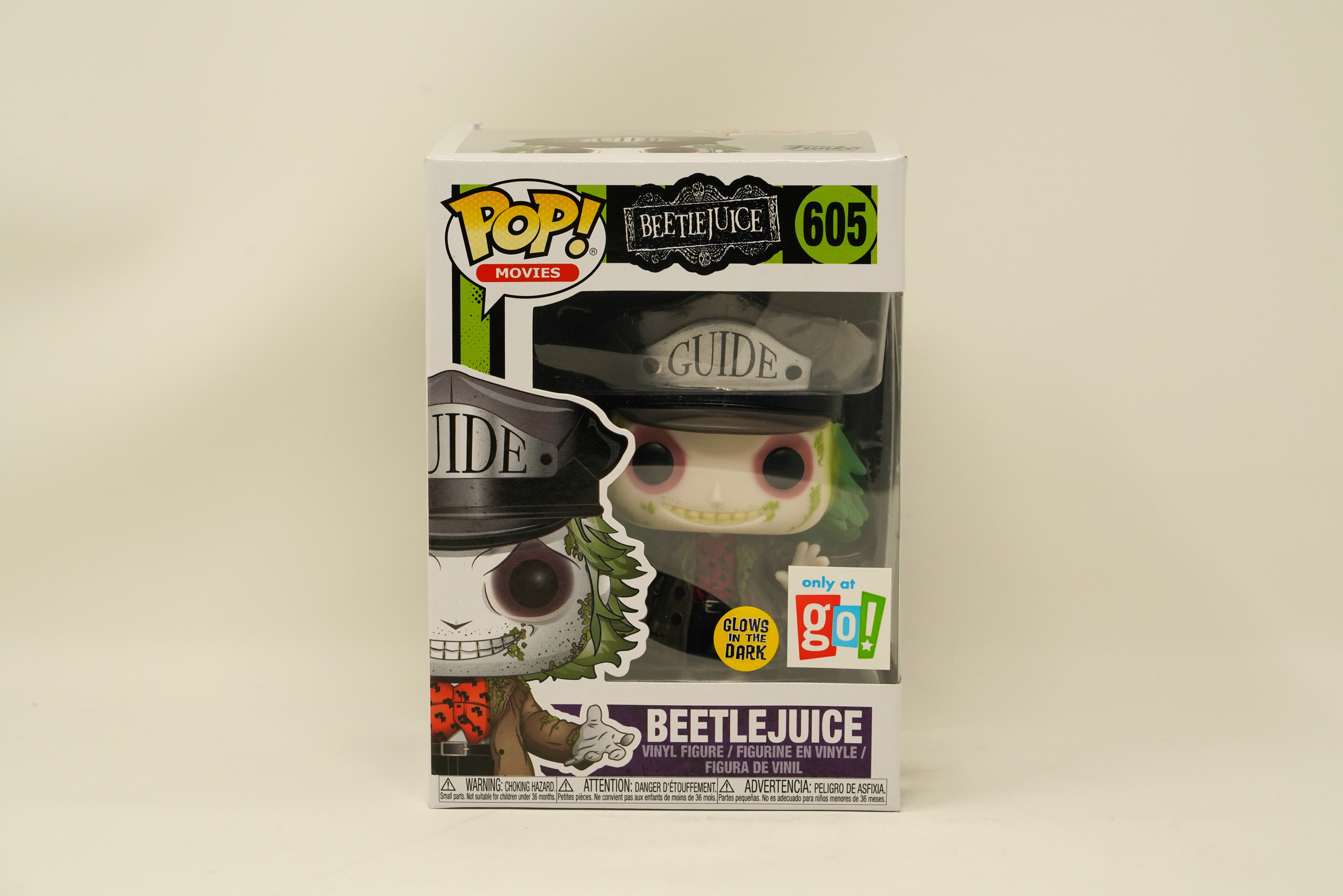 e2b5b517277 Beetlejuice (Guide Hat) (Glow in the Dark) with Pop Protector