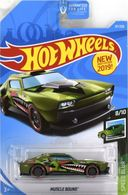 2019 20hot 20wheels 20speed 20blur 20 8 20of 2010  20muscle 20bound 20  20green 20 usa 20card 20not 20in 20collection  medium