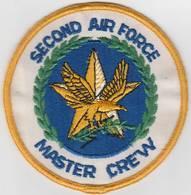 Second air force master crew usaf 4 2522 patch  uniform patches c38e9487 3d57 47fc 99fc e722ad56d241 medium