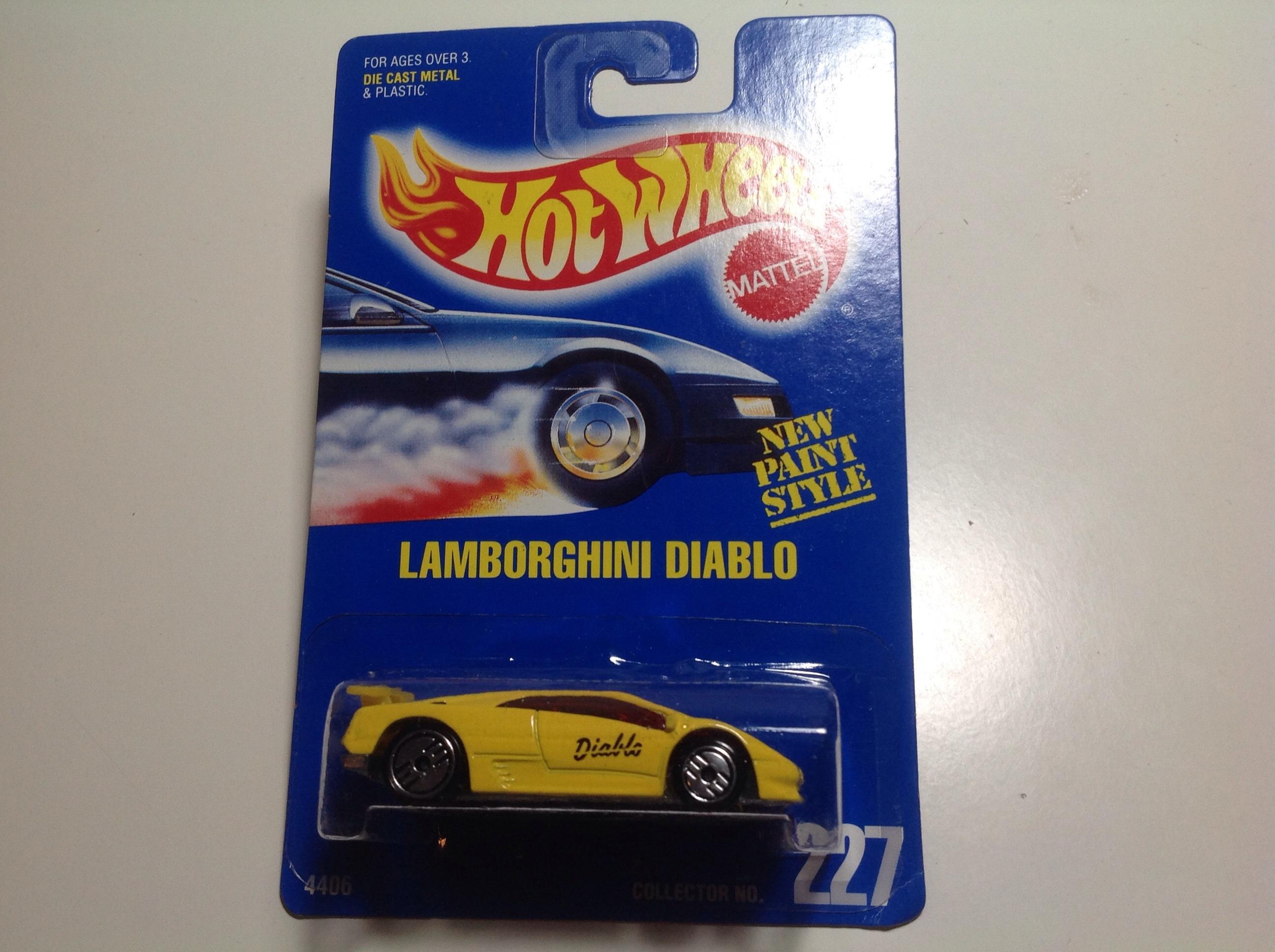 Hot Wheels Lamborghini Diablo Uh Wheels 227 The Hobbydb Marketplace
