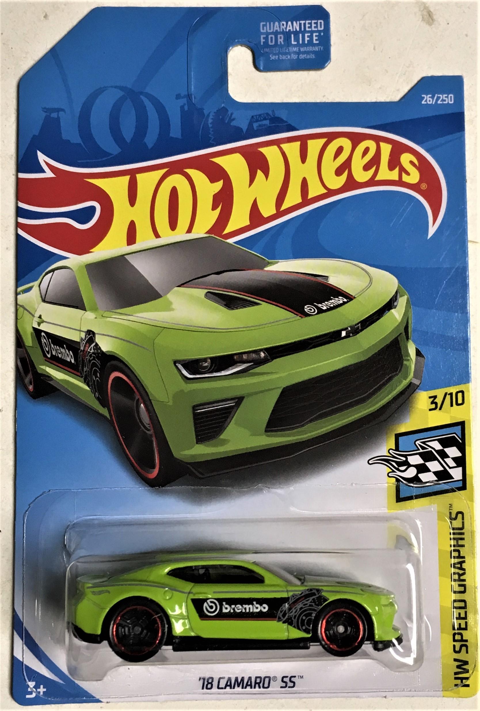 18 Camaro SS #26 Speed Graphics 2019 Hot Wheels