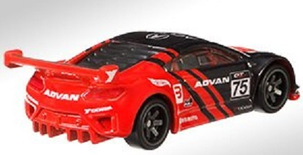 Acura NSX GT3 / 2019 Hot Wheels Replica Entertainment / Project Cars
