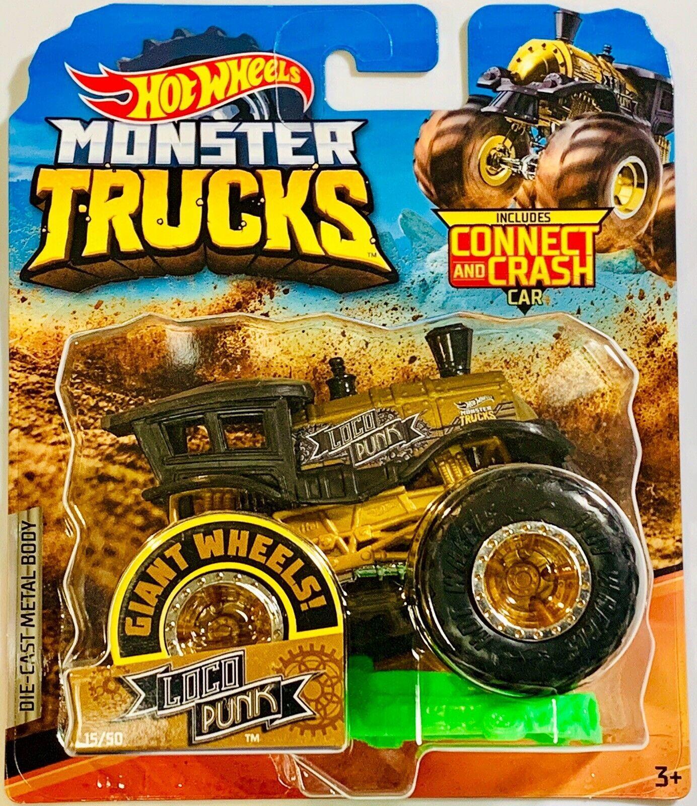 Loco Punk 2019 Hot Wheels Monster Trucks 15 50 Hobbydb