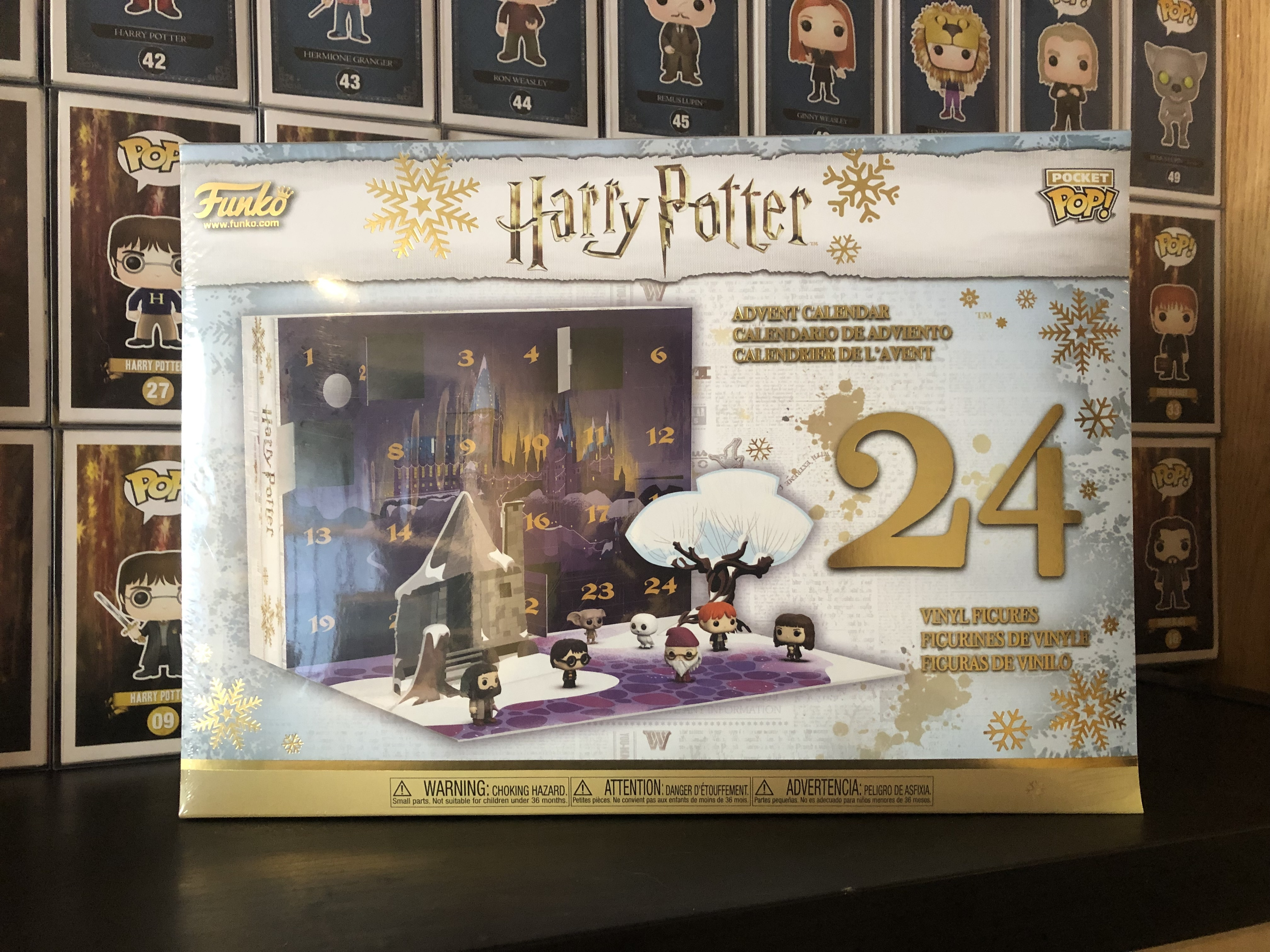 Harry Potter Advent Calendar.Harry Potter Advent Calendar Hobbydb