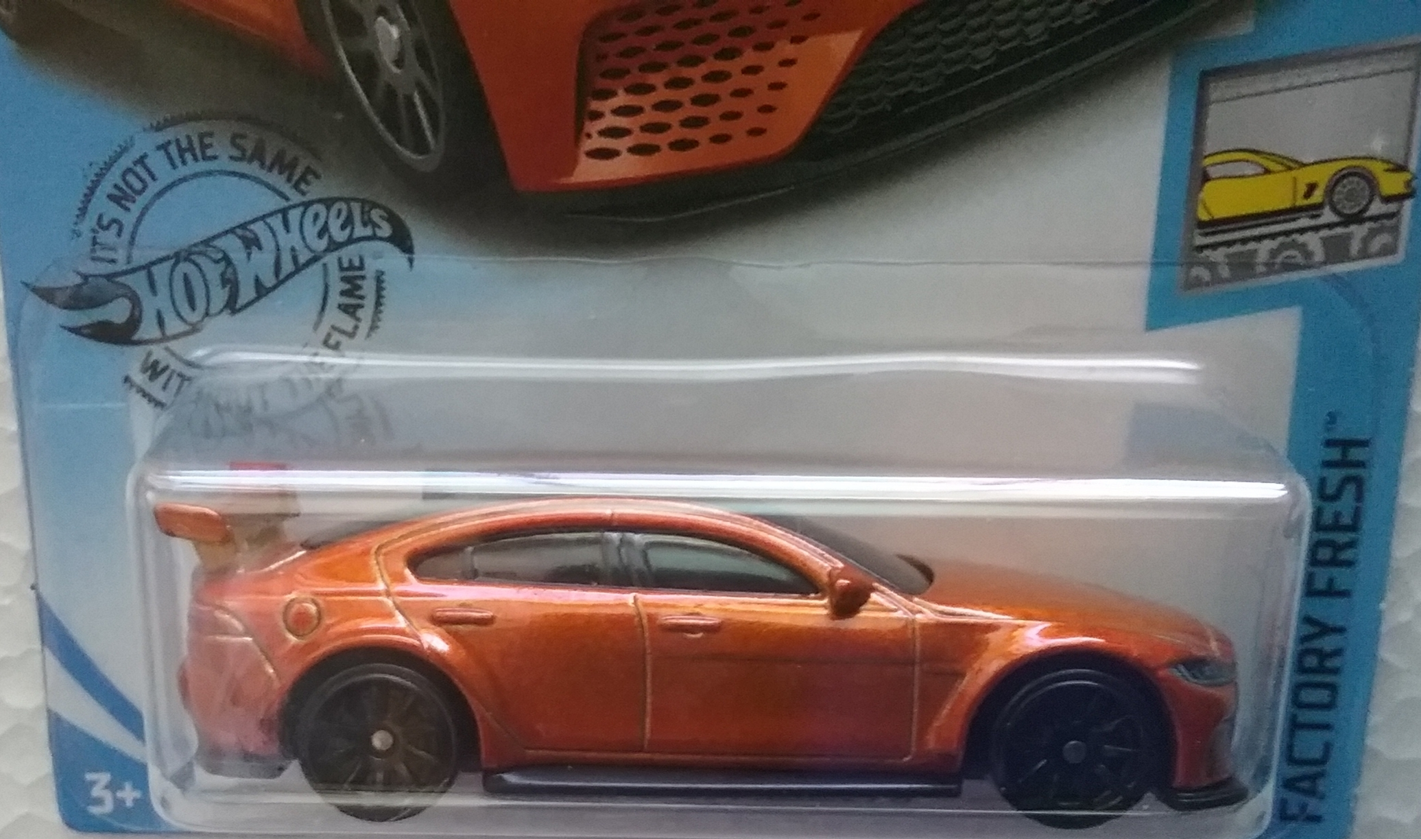Hot Wheels Jaguar XE SV Project 8 #244 Factory Fresh 2019 Hot Wheels