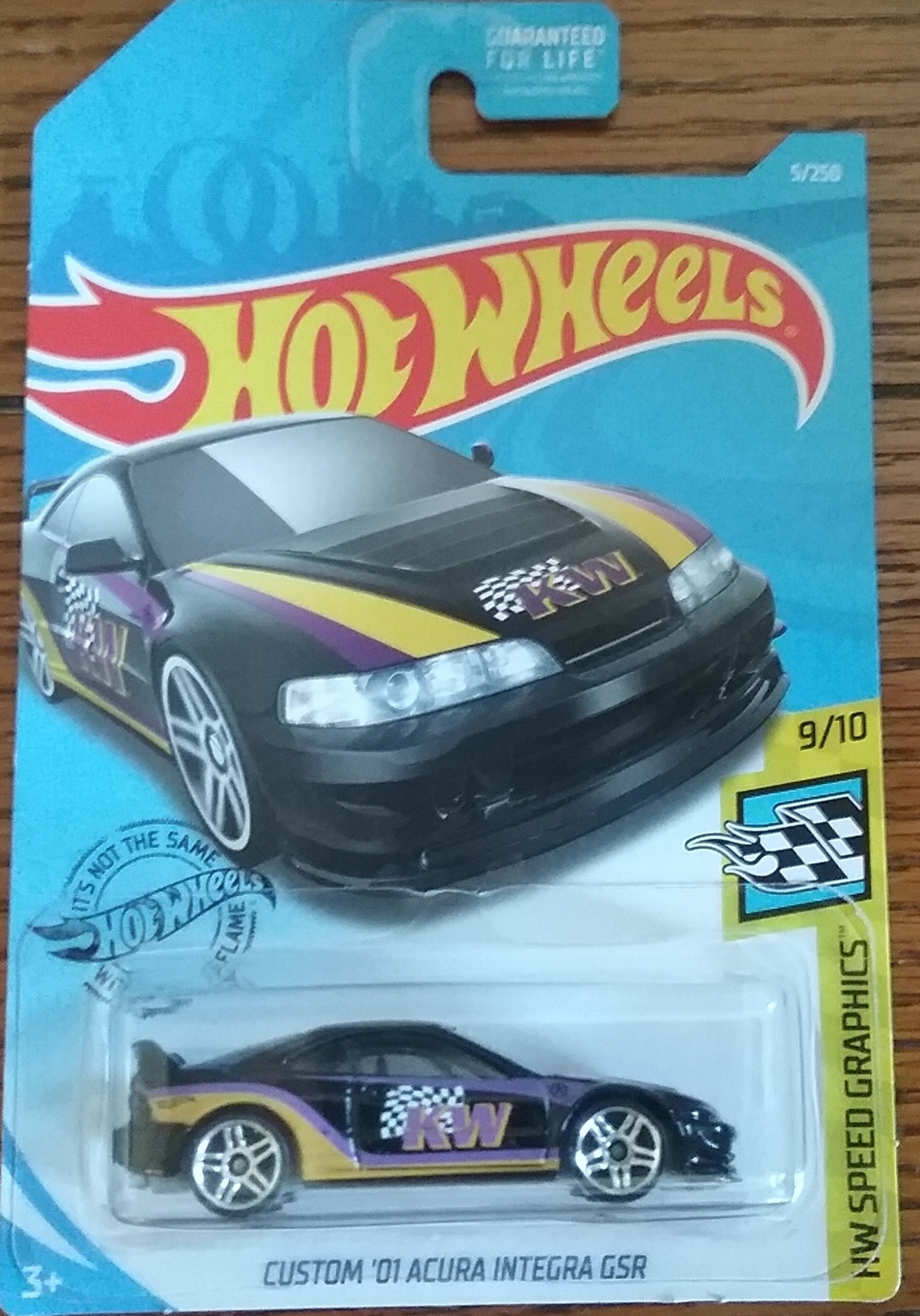 Custom 01 Acura Integra Gsr 5 Speed Graphics 2019 Hot Wheels
