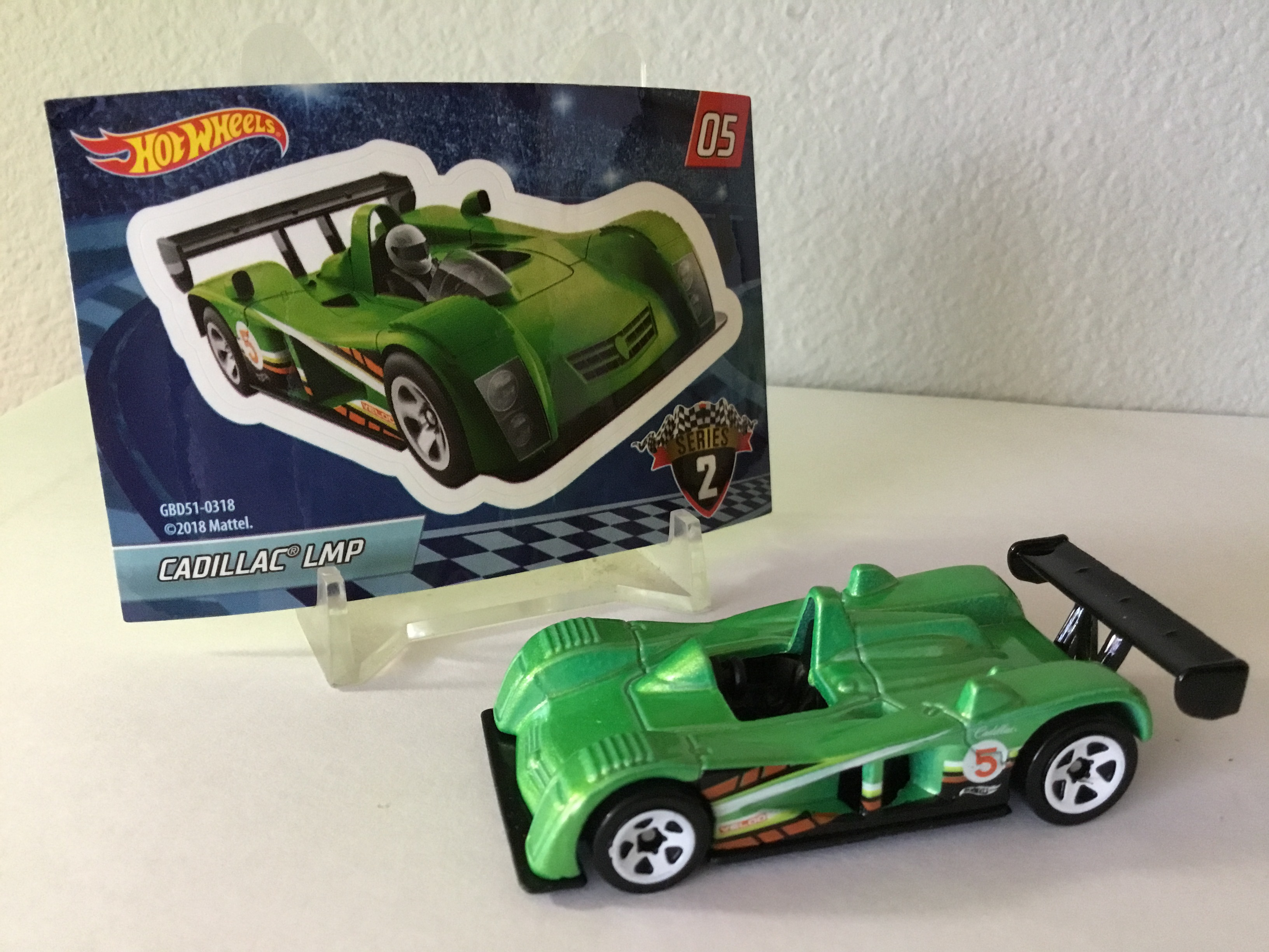 HOT WHEELS Mystery models CADILLAC LMP NUOVO