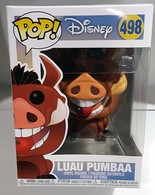 Disney le roi lion Luau PUMBAA #498 Vinyl Figure NEW IN BOX 2018 Funko Pop