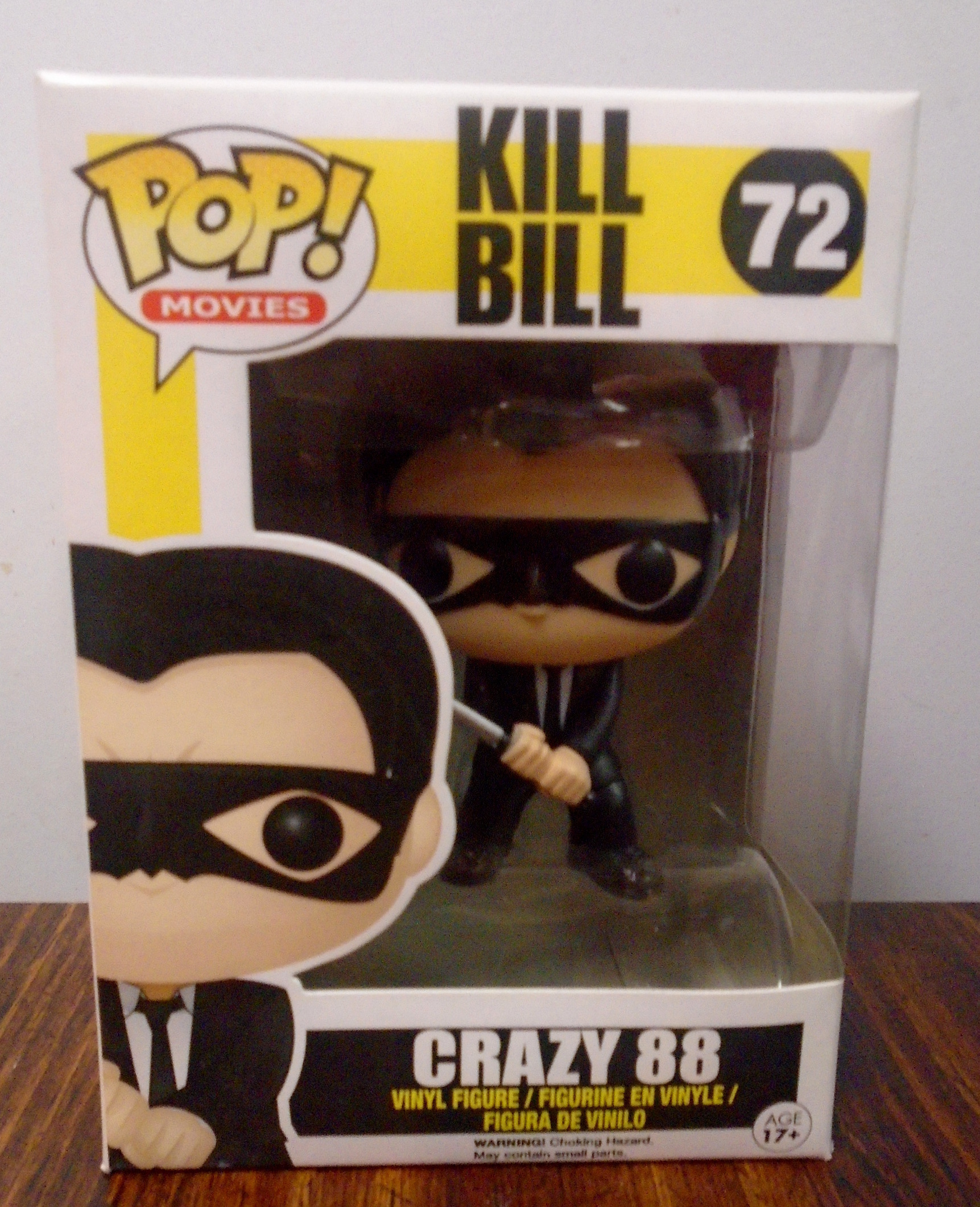 Crazy 88-72 FUNKO VINYL POP
