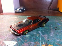M2 plymouth 71 hemi cuda 13f2 medium