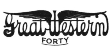 Great western forty logo large