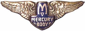 Mercury body emblem large