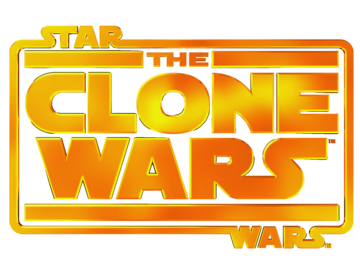 Clone wars logo large