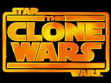 Clone wars logo large